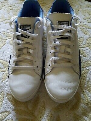 Puma Match White And Blue Shoes Size 9 girls ladies women