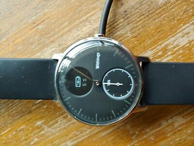 Withings Steel HR 36mm Black face - great hybrid smartwatch/activity tracker