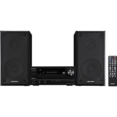 Sharp Hi-Fi Component Home Stereo Speaker System w/ AUX USB Bluetooth *XLHF102B