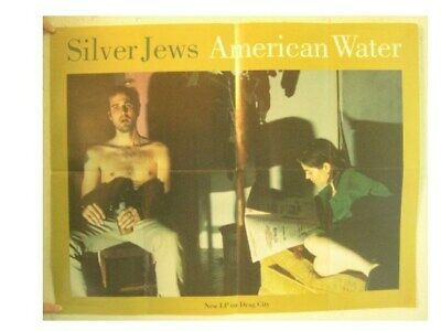 Silver Jews Poster American Water Drag City Pavement Stephen Malkmus The