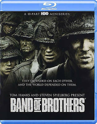 Blu-Ray Band of Brothers (2015 6 Disc Set) Like New with slip cover NO Digital