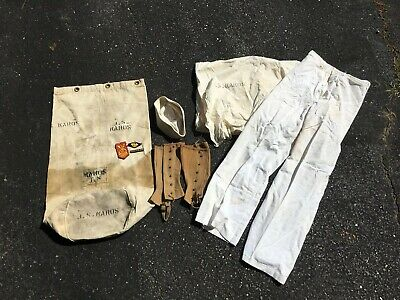 US Navy Named Grouping Lot Ww2 Bed Roll Sea Bag Duffle Patches