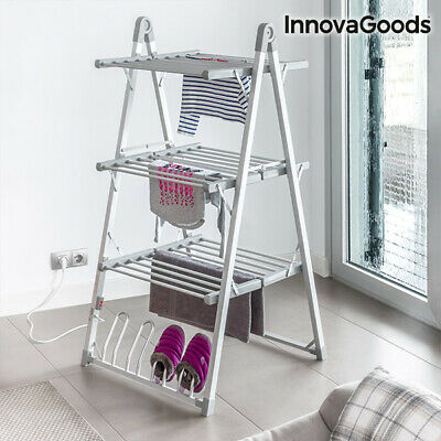 InnovaGoods Vertical Electric Drying Rack 300W Grey (30 Bars)