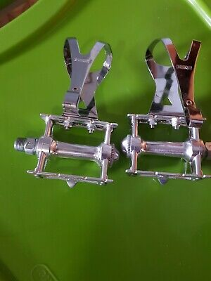 MKS Steel Toe Clips CHROME X-Large Track Fixed Gear