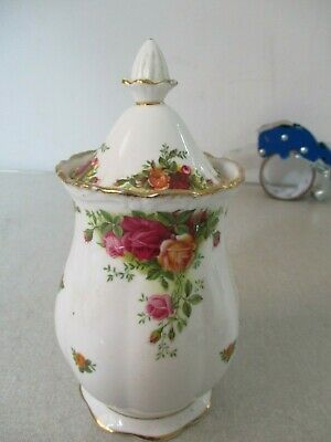 royal Albert Old Country Roses Covered Urn VGC First Quality