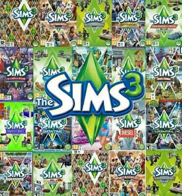 THE SIMS 3 ALL Expansion Origin Global PC Key - $4 26   PicClick