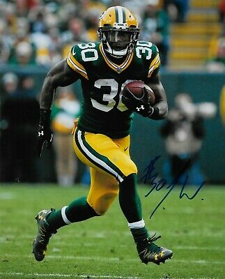 Jamaal Williams Signed 8x10 Photo Green Bay Packers Autograph With COA