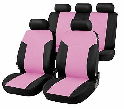 203489 R03 Car seat covers for AUDI Q5 version (2008 - 2016) black pink
