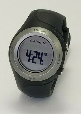Garmin Forerunner 405 No Charger Black Used Garmin Running GPS Watch - FREE SHIP