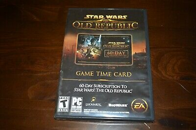 Star Wars: The Old Republic 60-Day Pre-paid (PC, 2011)