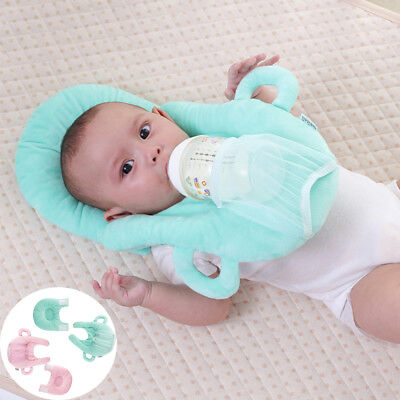 Newborn Infant Baby Pillow Support Cushion Pad Prevent Flat Head Nursing Kids
