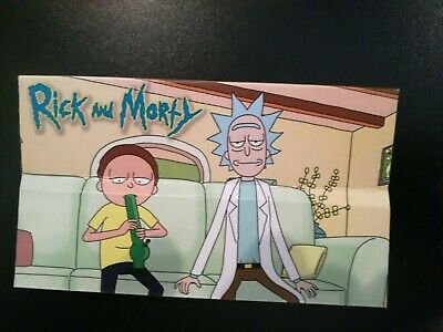 Rick and Morty Cigarette Rolling Papers King Size