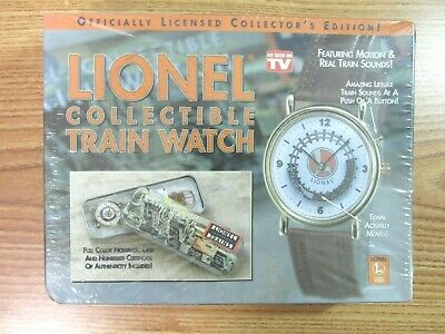 Lionel Collectible Train Watch Telebrands