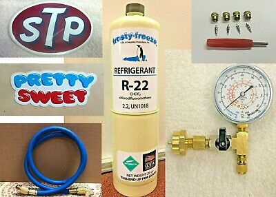 R22, R-22, Refrigerant 22, Air Conditioning, Refrigeration, 20 oz Can, Kit 731