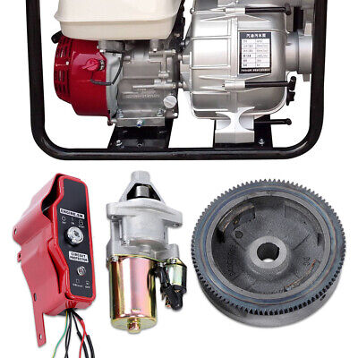 NEW HONDA GX390 13 hp ELECTRIC START KIT inc FLYWHEEL