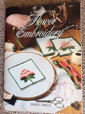 Vintage Family Circle Pattern Book A Treasury of Flower Embroidery