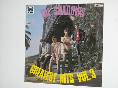 THE SHADOWS - GREATEST HITS Vol 3 LP Aussie Only HANK MARVIN