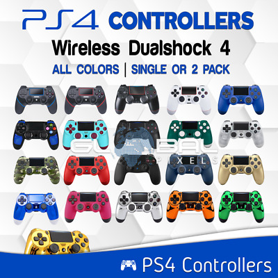 PS4 Controller Wireless Bluetooth Dualshock4 PlayStation 4 Video Game lot COLORS