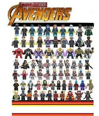 Avengers Minifigure Building Blocks Fits Leg - Endgame