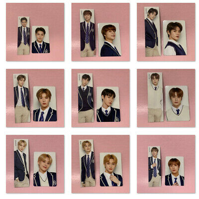 NCT 127 Official PHOTOCARD SET 2019 BACK to School Kit Photo Card w/ Bookmark