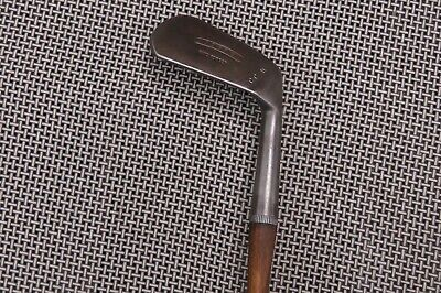 Antique Vintage Hickory Shaft J J O'Brien Mashie Niblick G 3 SW