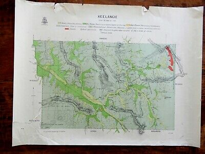 [Map]. EASTON, J.G. (Surveyed by). Keelangie. [Victoria]. 1920s.