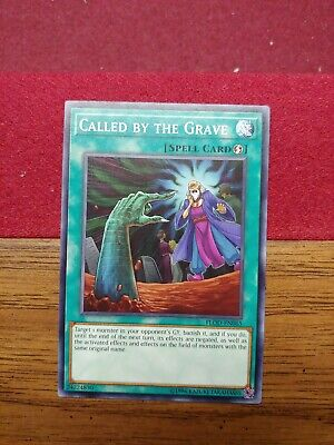 YUGIOH! Called by the Grave - FLOD-EN065 - Common - 1st Edition NM! MANY AVAILAB