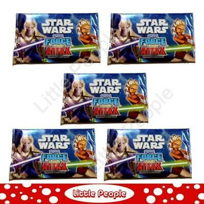 5 x Marvel Star Wars Force Attax Trading Card Packets Game