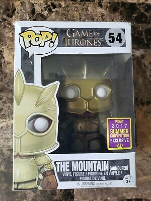 Funko Pop Game of Thrones The Mountain Armoured 2017 SDCC Exclusive