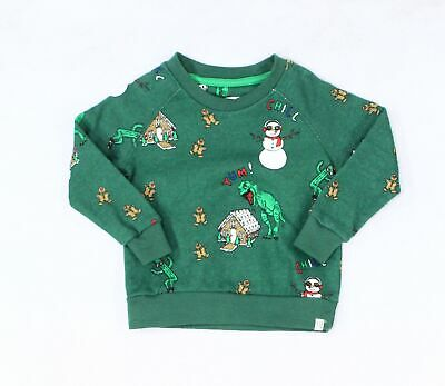 Sovereign + Code Baby Boys Sweater Green Size 12 Months Christmas $36 935