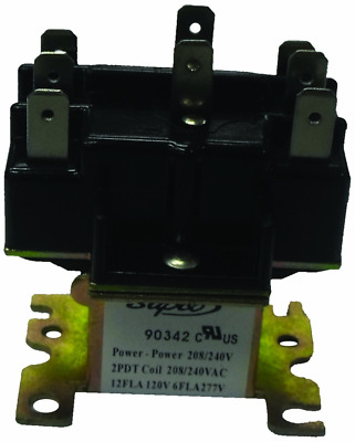 90-340 Switching Relay DPDT 24 Volt Coil also replaces Honeywell R8222D1014