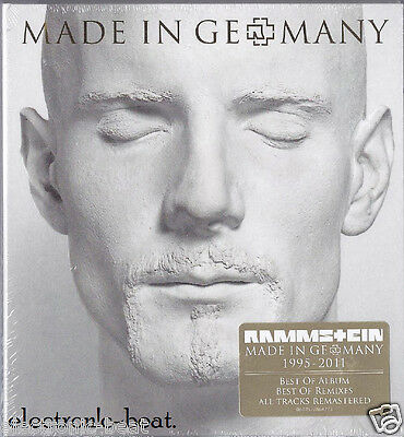 RAMMSTEIN Made In Germany 1995-2011 pet shop boys westbam scooter laibach hurts