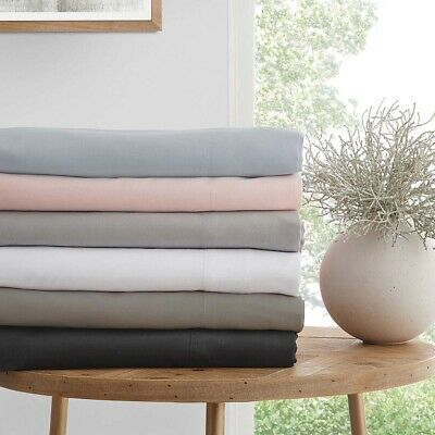 Logan and Mason 250TC Cotton Sheet Set, Fitted, All Pillowcases