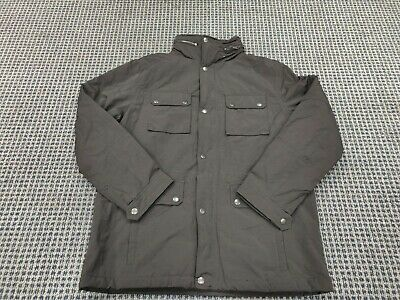 NWT Men's Ben Sherman black hooded  jacket MSRP $240 size small 0MBS065H