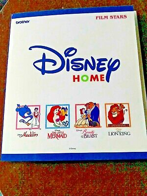 Brother Embroidery Card  Disney