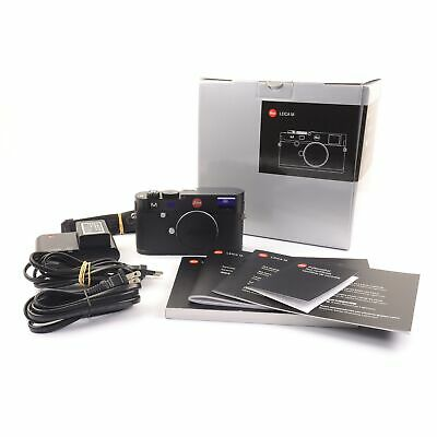 Leica Leitz M (Typ 240) Black + Box 10770 #1627
