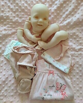 Reborn Kit Punkin by Donna Rubert + Body + Outfit+ Nappy