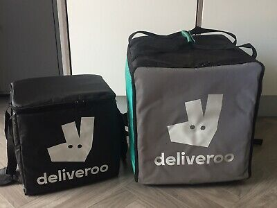 Deliveroo Insulated Backpack + Smaller Bag + Waterproof Trousers