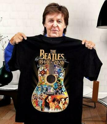 Sn00py Life Is Better Listening To The Beatles T Shirt Black Cotton Men S-6XL