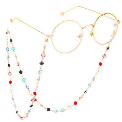 Travel Lightweight Eyeglass Sunglasses Holder Necklace Chain Cord String Wo IY