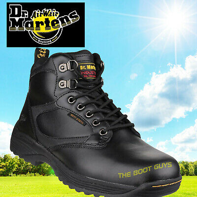 buying new the best attitude latest design DR MARTENS DM'S Drax S1P HRO SRC Black leather Safety Boots ...