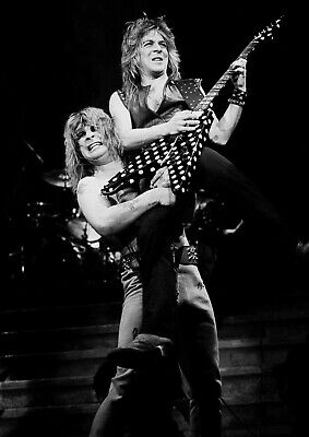 Art print poster/canvas Randy Rhoads and Ozzy