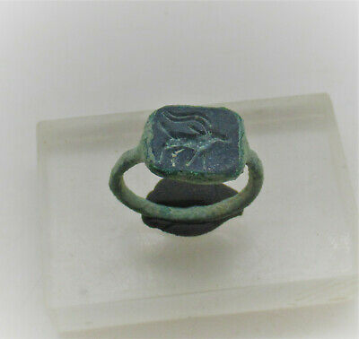 Detector Finds Ancient Roman Bronze Ring With Beast Motif
