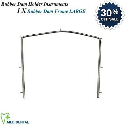 Restorative Dental Instruments Rubber Dam Frame Large Endodontic Laboratory CE