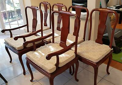 Chinese Antiques Dining Chairs x 6