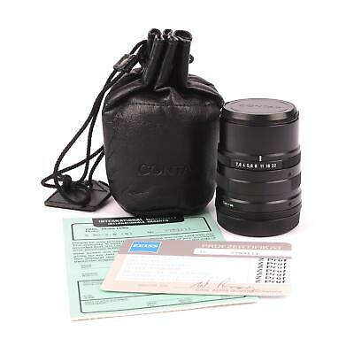 Carl Zeiss 90Mm F2.8 Sonnar Black For Contax G1 / G2  #623