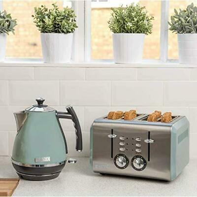 1.7L Haden Jug Kettle 4 Slice Toaster Set  - Stylish Kitchen