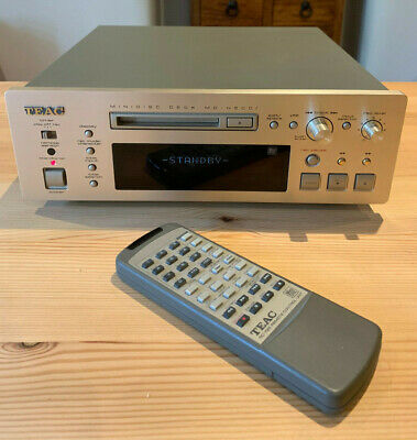 Teac MD-H500i MiniDisc Player Recorder & Remote