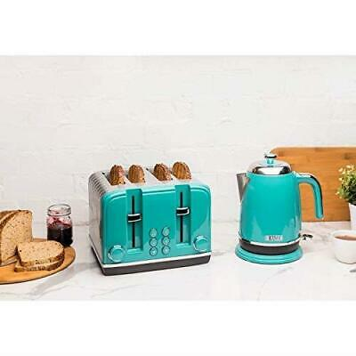 Haden Salcombe 1.7L Kettle 4 Slice Toaster Set  - Retro Kitchen