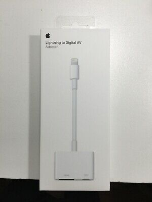 Apple Lightning to Digital AV Adapter (HDMI) - Genuine OEM Authentic - MD826AM/A
